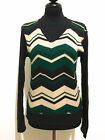 CULT VINTAGE '70 Maglione Maglia Donna Lana Tweed Wool Woman Sweater Sz.S - 42