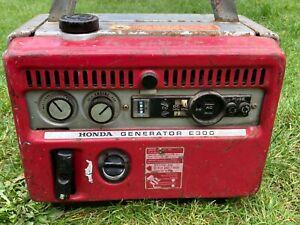 Honda Generator E300E Available Worldwide