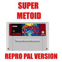 Cartridge Repro Super Metroid Super Nintendo SNES PAL
