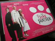 The Pink Panther (Steve Martin) - 2006 -Original (Double Sided) UK Quad Poster