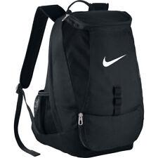Nike club equipo Swoosh negro mochila regreso al escuela gimnasio