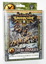Warmachine Mercenaries Horgenhold Forge Guard Unit (10 Models) Used - Out of Box