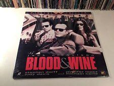 Blood & Wine New Widescreen Crime Thriller Laserdisc 1996 Nicholson Caine Dorff
