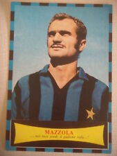 SANDRO MAZZOLA INTER FC. POSTER MANIFESTO IN CARTONCINO ANNI '70