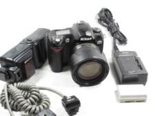 NIKON D70/D-70 DIGITAL SLR CAMERA WITH ACCESSORIES L@@K