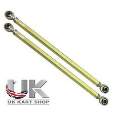 Par De M8 X 265mm hexagonal pista Varillas & Rod Ends UK Kart Store