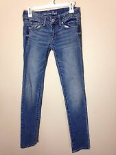 American Eagle AE Short Size 0 Light Wash Skinny Jeans, Free Shipping