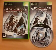 Microsoft Xbox original PAL Game-Medal of Honor European Assault-Complet