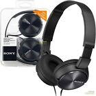 Sony MDR-ZX310 sur oreilles Pliable Léger DJ Style casque sur la tête - Noir