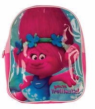OFFICIAL LICENSED TROLLS CHILDRENS BACKPACK CHILDS TROLLS SCHOOL BAG