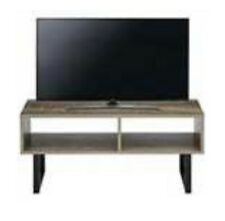 "Telford Industrial TV Unit Table In Rustic Oak Effect Up To 40"" Tv MU679 Very"