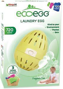 Ecoegg Laundry Egg 720 Fragrance Free 720 Washes Eco Egg