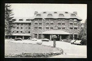 North Carolina NC postcard Asheville, Grave Park Inn Hotel Vintage
