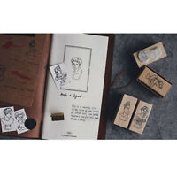 Vintage Gypsum series wooden rubber stamps scrapbooking stationery DIY  *TRFR