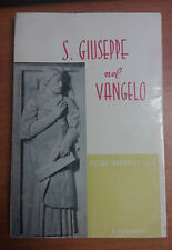 LIBRO SAN GIUSEPPE NEL VANGELO PIETRO BARBAGLI TERESIANUM  1963