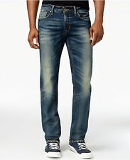 GUESS JEANS New Men's sz 32 GUESS Original Straight Fit Jeans in Fuse Wash