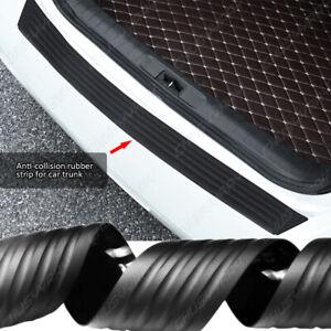 Accessories Rubber Sheet Car Rear Guard Bumper 4D Sticker Panel Protector Kit
