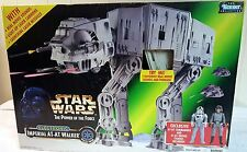 STAR WARS PotF Electronic Imperial AT-AT Walker w Cmdr & Driver figures & Sounds