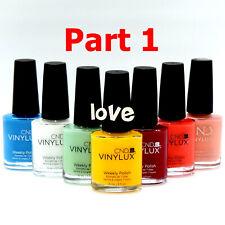 CND Vinylux Nail Polish 0.5fl.oz 👉 Vinylux Color Part 1 /Choose Any Color