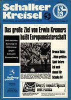 BL 75/76 FC Schalke 04 - 1. FC Kaiserslautern, 06.12.1975 - Klaus Fischer