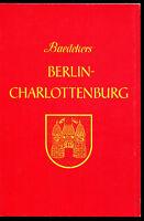 Baedekers Berlin-Charlottenburg Stadtführer von Karl Baedeker 1980 Mit 5 Karten