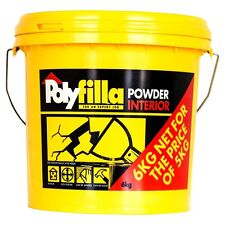Polyfilla 6kg Interior Powder Filler