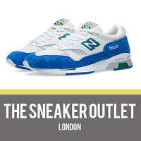 Mens New Balance 1500 CF Trainers UK Size 9 // Cumbrian Blue White Made In UK