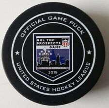 c379a7f56 2019 USHL NHL Top Prospect Official Game Puck Lincoln Stars Tough Puck