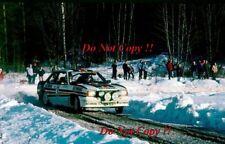 Walter Rohrl Opel Ascona 400 Swedish Rally 1982 Photograph 2