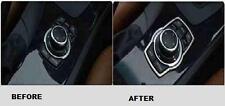 METAL CHROME TRIM DECORATION FOR I DRIVE I-DRIVE RIM BMW NEW UK SELLER E90 E92