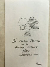 Snuffy Smith pencil sketch by Fred Laswell
