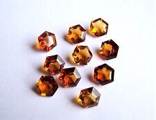 Citrin  Sechseck  ca 9 mm gelb orange ca 2,80 Carat