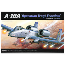 "ACADEMY #12402 1/72 Plastic Model Kit A-10A ""Operation Iraqi Freedom"""