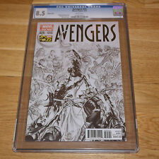 Avengers #25 'Sketch Variant Cover' CGC 8.5