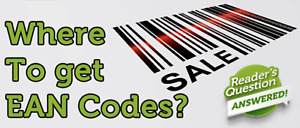1000 EAN Barcodes Codes Numbers - GS1 - Amazon Verified
