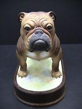 Royal Worcester Porcelain BULLDOG Figurine by Doris Lindner 1968
