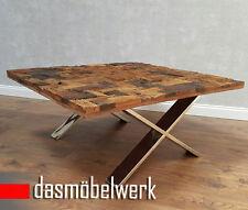 tisch couchtisch treibholz massivholz recycling holz antik look 100 cm af 2037 - Treibholz Tisch