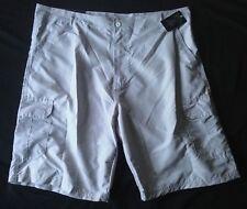 BLUE GEAR BG Men's Casual Golf Shorts Size 40W Gray/White Lightweight NWT $39