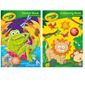 Crayola SET OF 2 Colouring Book & Sticker Book Activity Children's Colouring UK