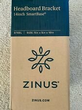 ZINUS HEADBOARD STEEL BRACKET, SET OF 2 - FOR USE WITH 14 INCH SMARTBASE - NEW