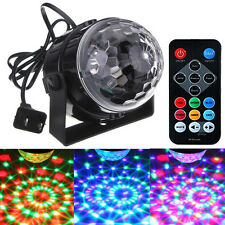 Mini LED Stage Light Magic Ball Disco Crystal Effect DJ Club Bar Party Control