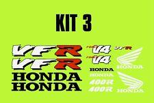 VFR400 decals sticker kit for road, track, race bike or toolbox #119K3