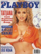 Dutch Playboy Magazine 1990-06 Peggy McIntaggart, Margaux Hemingway, Sharon ...