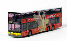 Rietze 16961 - MAN Lion's City DD Radio Berlin - Bus 1:160