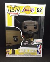 Lebron James Funko POP Los Angeles Lakers Foot Locker Exclusive, Ready to Ship!