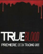 True Blood Premiere Edition Card Album with Promo Card P2