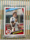1984 Topps John Elway Denver Broncos #63 Football Card + 2