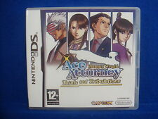 *ds ACE ATTORNEY Phoenix Wright Trials And Tribulations (NI) Lite DSi 3DS PAL