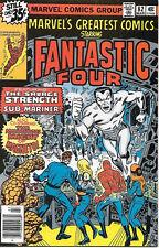 Marvel's Greatest Comics Comic Book #82 Fantastic Four 1979 Very Fine/Near Mint