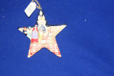 Jim Shore Nativity Star Hanging Ornament #4010627 2008